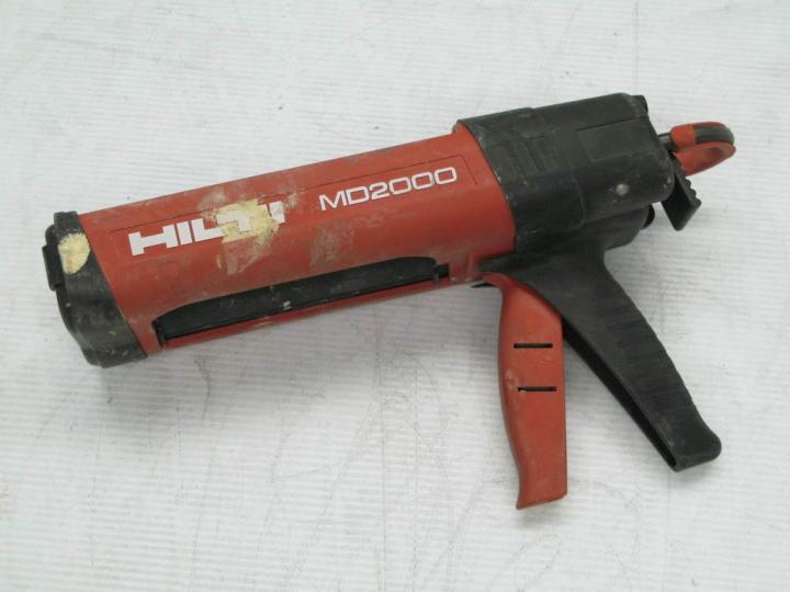 Two Part Epoxy Dispenser ~ Hilti md part epoxy adhesive dispenser caulking gun