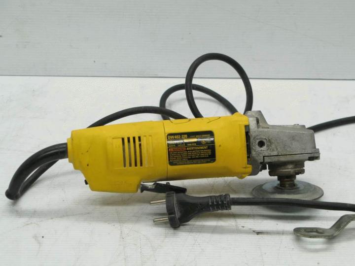 For Parts Dewalt Dw402 220 4 1 2 Quot Angle Grinder Ebay
