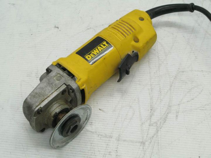 De Walt Electric Grinder ~ For parts dewalt dw  quot angle grinder ebay